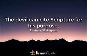 Devilcitesscripture